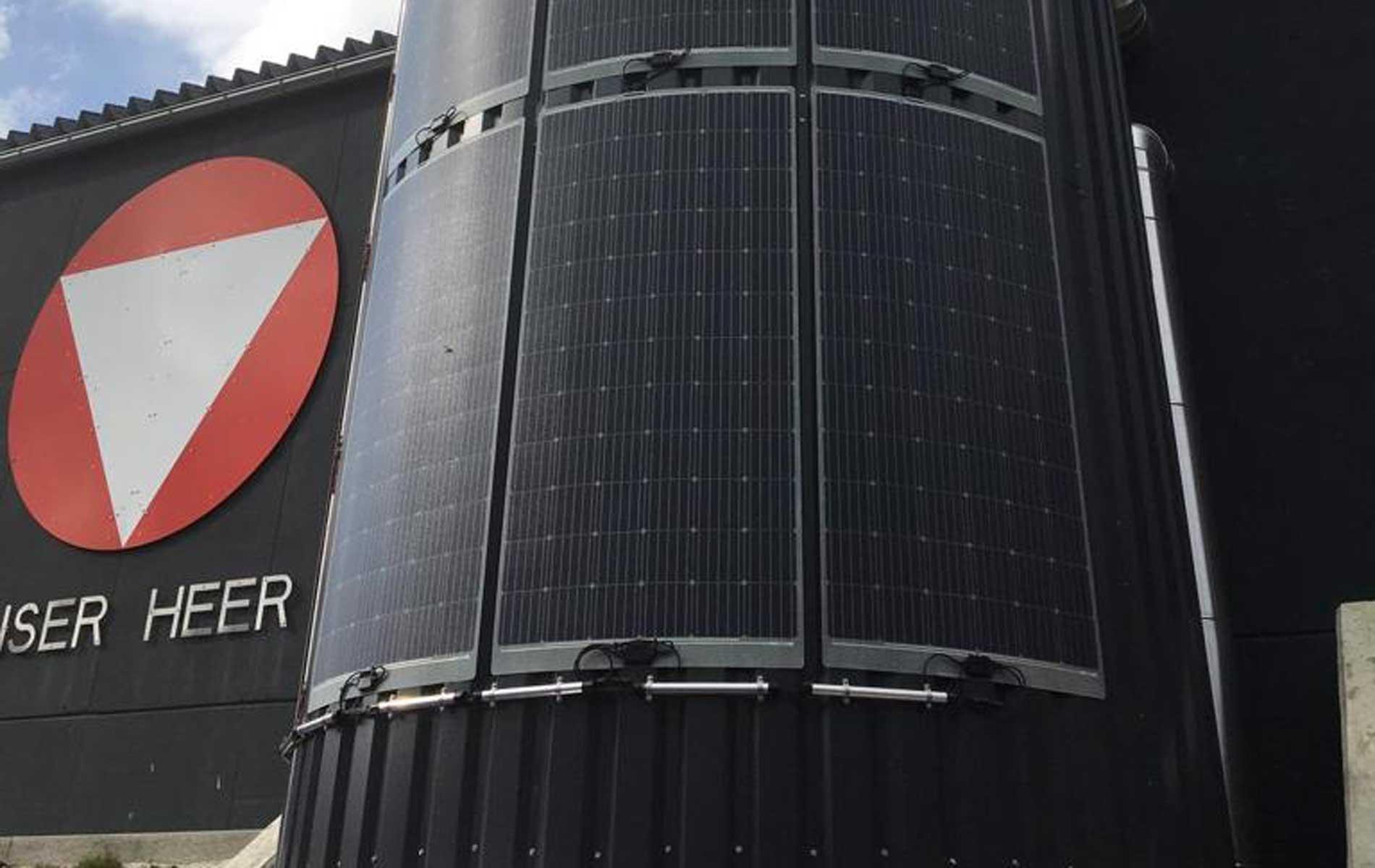 HEST Photovoltaik Anlage für das österr. Bundesheer